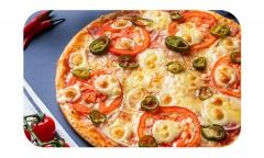 Пицца<br>с халапеньо