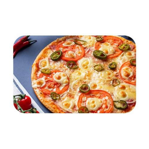 Пицца с халапеньо